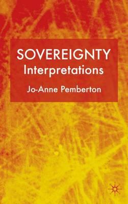 Sovereignty: Interpretations (Hardback)