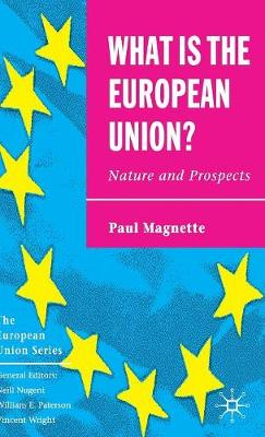 What is the European Union: Nature and Prospects - The European Union Series (Hardback)