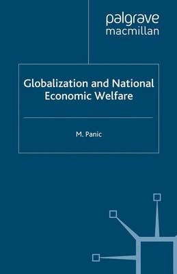 Globalization and National Economic Welfare (Paperback)
