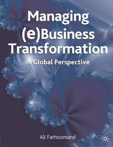 Managing (e)Business Transformation: A Global Perspective (Hardback)
