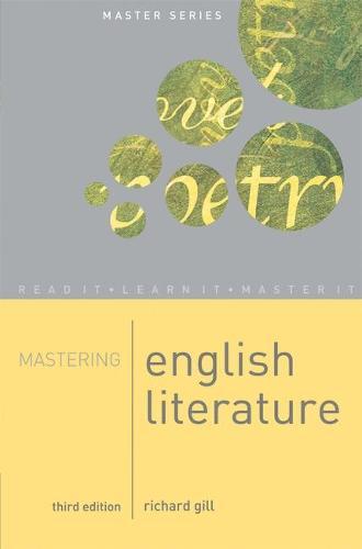 Mastering English Literature - Palgrave Master Series (Paperback)