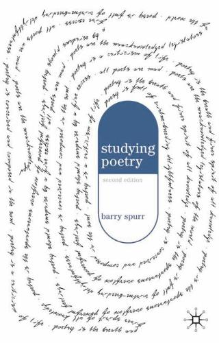Studying Poetry (Paperback)
