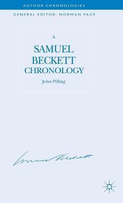 A Samuel Beckett Chronology - Author Chronologies Series (Hardback)