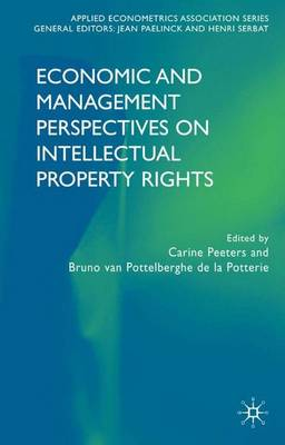 Economic and Management Perspectives on Intellectual Property Rights - Applied Econometrics Association Series (Hardback)
