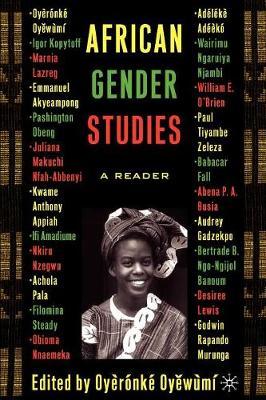African Gender Studies: A Reader (Paperback)