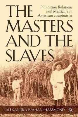 The Masters and the Slaves: Plantation Relations and Mestizaje in American Imaginaries - New Directions in Latino American Cultures (Hardback)