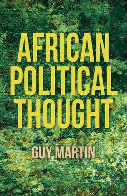 African Political Thought (Hardback)