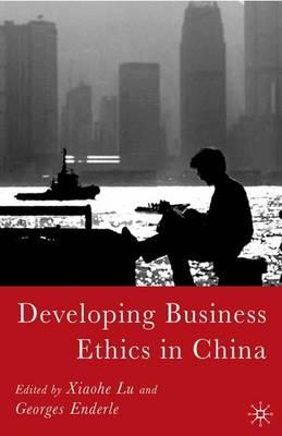 Developing Business Ethics in China (Hardback)