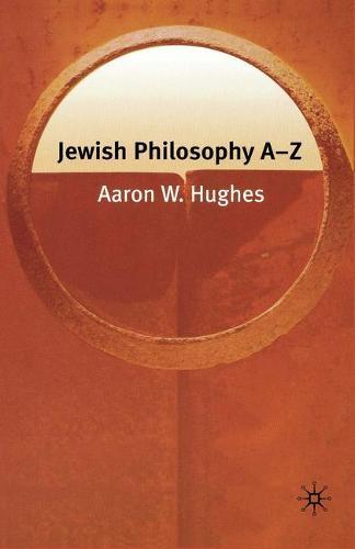 Jewish Philosophy A-Z - Philosophy A-Z (Paperback)