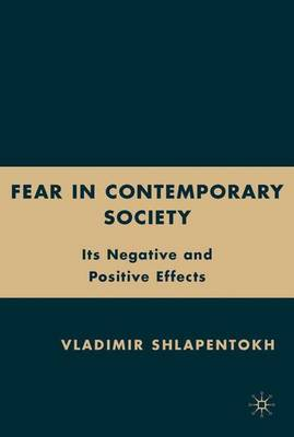 Fear in Contemporary Society: Its Negative and Positive Effects (Hardback)