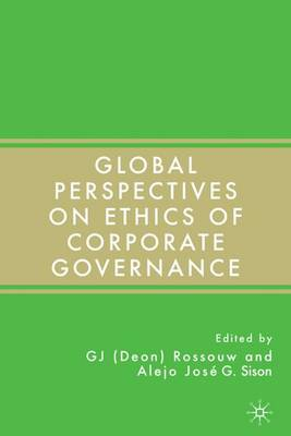 Global Perspectives on Ethics of Corporate Governance (Hardback)