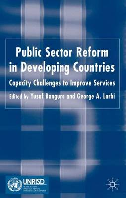 Public Sector Reform in Developing Countries: Capacity Challenges to Improve Services (Hardback)