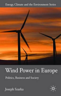 Wind Power in Europe: Politics, Business and Society - Energy, Climate and the Environment (Hardback)