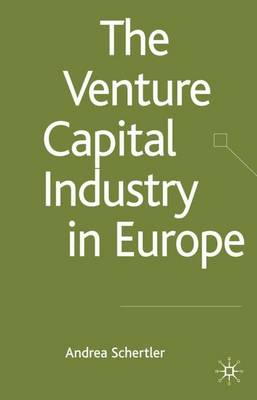 The Venture Capital Industry in Europe - Palgrave Macmillan Studies in Banking and Financial Institutions (Hardback)