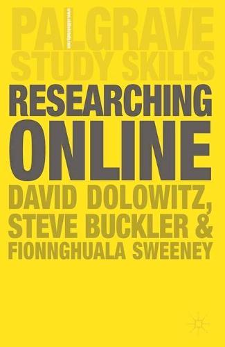 Researching Online - Macmillan Study Skills (Paperback)