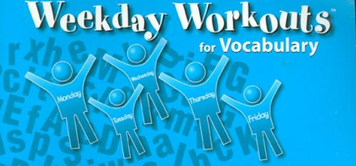 Weekday Workouts for Vocabulary - Student Booklet Grade 2 - WEEKDAY WORKOUTS VOCABULARY (Paperback)