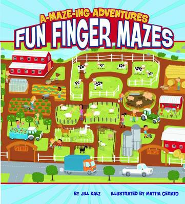 A-maze-ing Adventures: Fun Finger Mazes (Paperback)