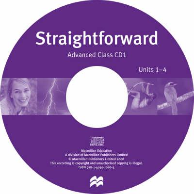 Straightforward Advanced Class Audio CD (CD-Audio)