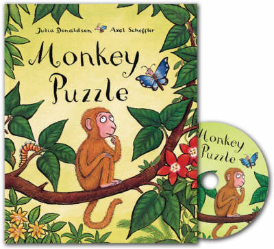 Monkey Puzzle Book and CD Pack