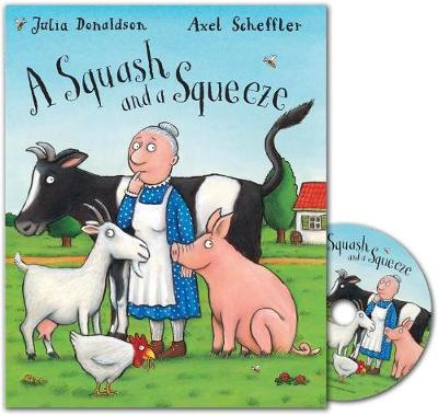 A Squash and a Squeeze Book and CD pack