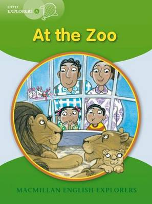 Little Explorers A At the Zoo (Board book)