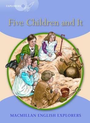 Explorers 5 Five Children and it (Board book)
