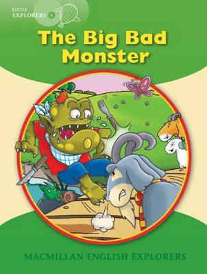 Little Explorers A The Big Bad Monster Big Book (Board book)