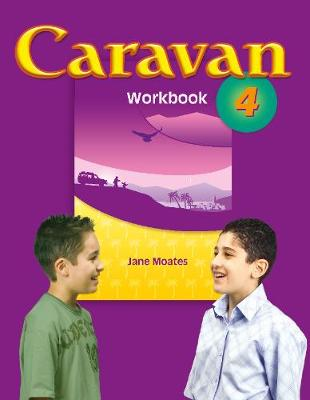 Caravan Level 4: Workbook - Primary ELT Course for the Middle East (Paperback)