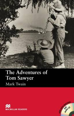 The The Adventures of Tom Sawyer: The Adventures of Tom Sawyer - With Audio CD Beginner (Board book)