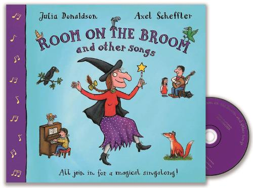 Room on the Broom and Other Songs Book and CD (Book)