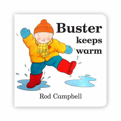 Buster Keeps Warm (Board book)