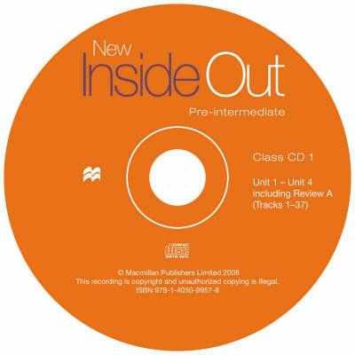 New Inside Out Pre-Intermediate Class Audio CDx3 (CD-Audio)
