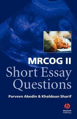 MRCOG II Short Essay Questions (Paperback)