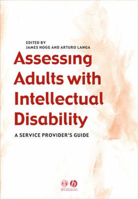 Assessing Adults with Intellectual Disabilities: A Service Provider's Guide (Paperback)