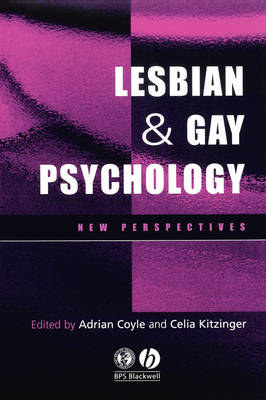 Lesbian and Gay Psychology - New Perspectives (Paperback)