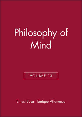 Philosophy of Mind - Philosophical Issues: A Supplement to Nous v. 13 (Paperback)