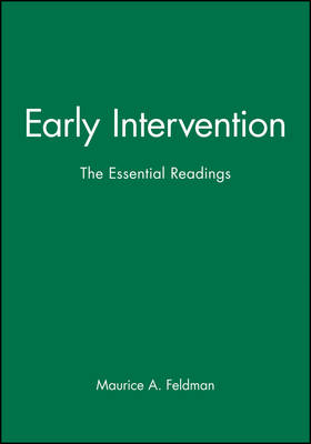 Early Intervention: The Essential Reader - Essential Readings in Developmental Psychology (Paperback)