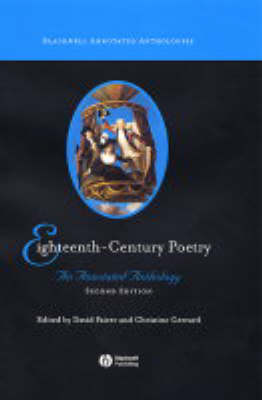 Eighteenth-Century Poetry: An Annotated Anthology - Blackwell Annotated Anthologies (Hardback)