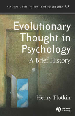 Evolutionary Thought in Psychology: A Brief History - Blackwell Brief Histories of Psychology (Paperback)