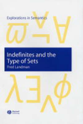 Indefinites and the Type of Sets - Explorations in Semantics (Hardback)