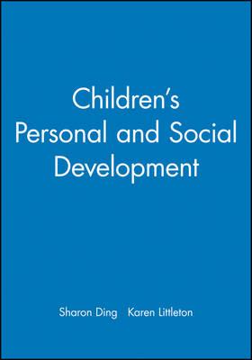Children's Personal and Social Development - Child Development (Paperback)