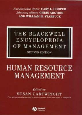 The Human Resource Management - Blackwell Encyclopaedia of Management (Hardback)
