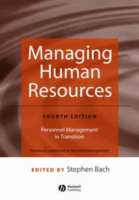Managing Human Resources: Personnel Management in Transition (Paperback)