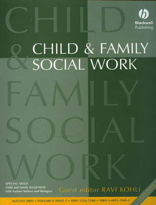 Child and Family Social Work: With Asylum Seekers and Refugees (Paperback)