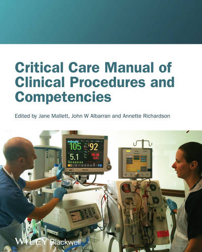 Critical Care Manual of Clinical Procedures and Competencies (Paperback)
