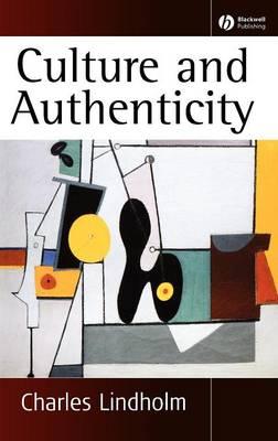 Culture and Authenticity (Hardback)