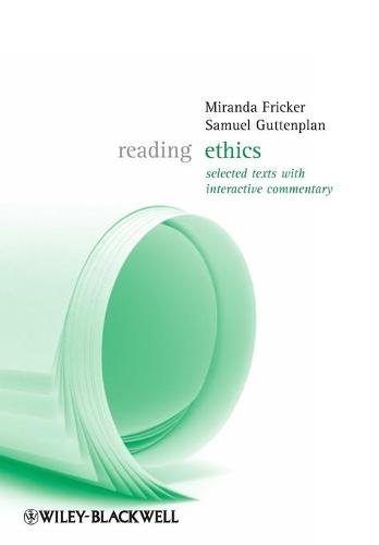 Reading Ethics - Reading Philosophy (Paperback)