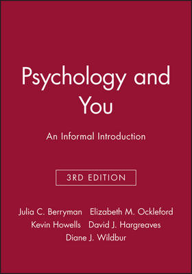 Psychology and You: An Informal Introduction (Paperback)