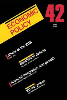 Economic Policy - Economic Policy 40 (Paperback)