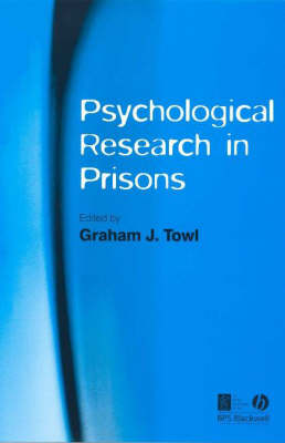 Pyschological Research in Prisons (Paperback)